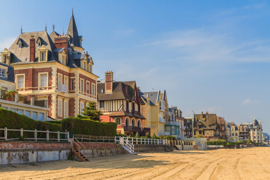 The Trouville-Sur-Mer in France.