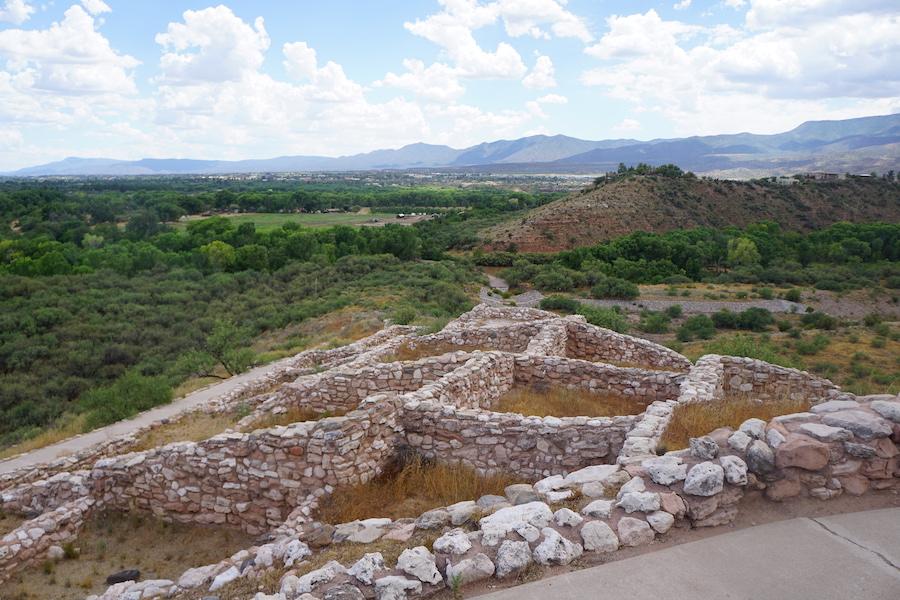 The Tuzigoot National Monument in Arizona.