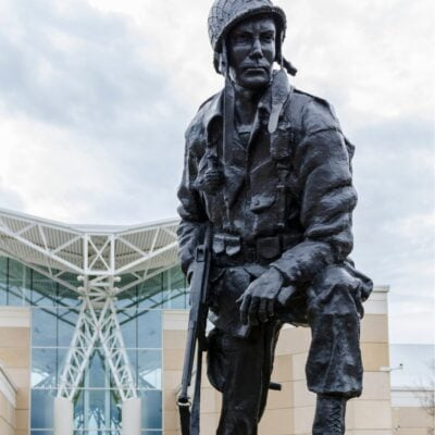 The U.S. Airborne and Special Operations Museum in Fayetteville.