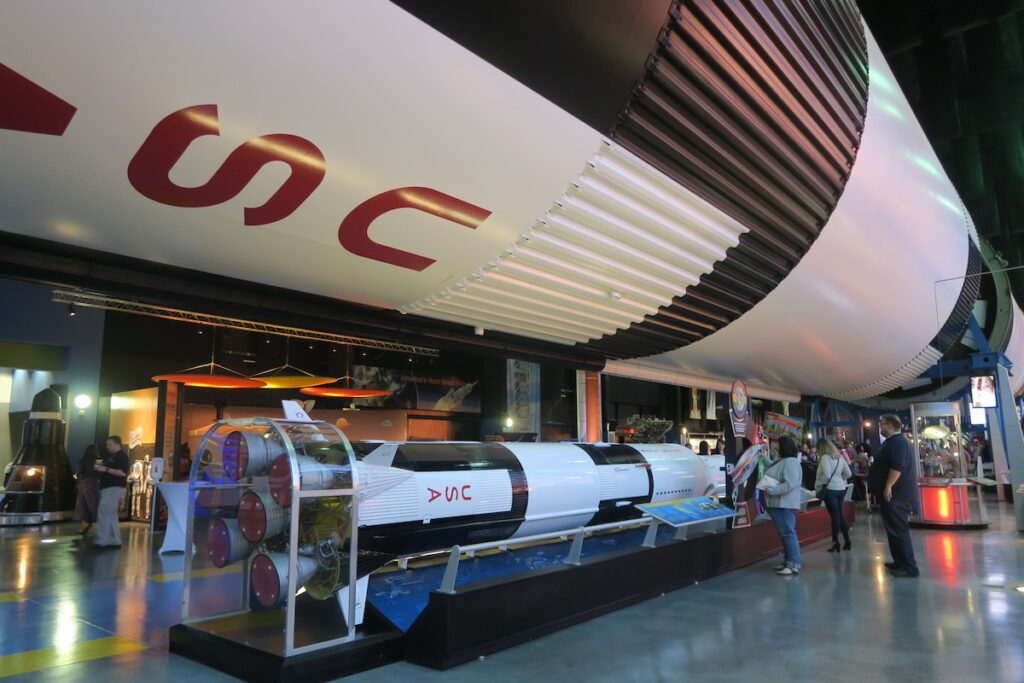 The U.S. Space and Rocket Center in Huntsville.