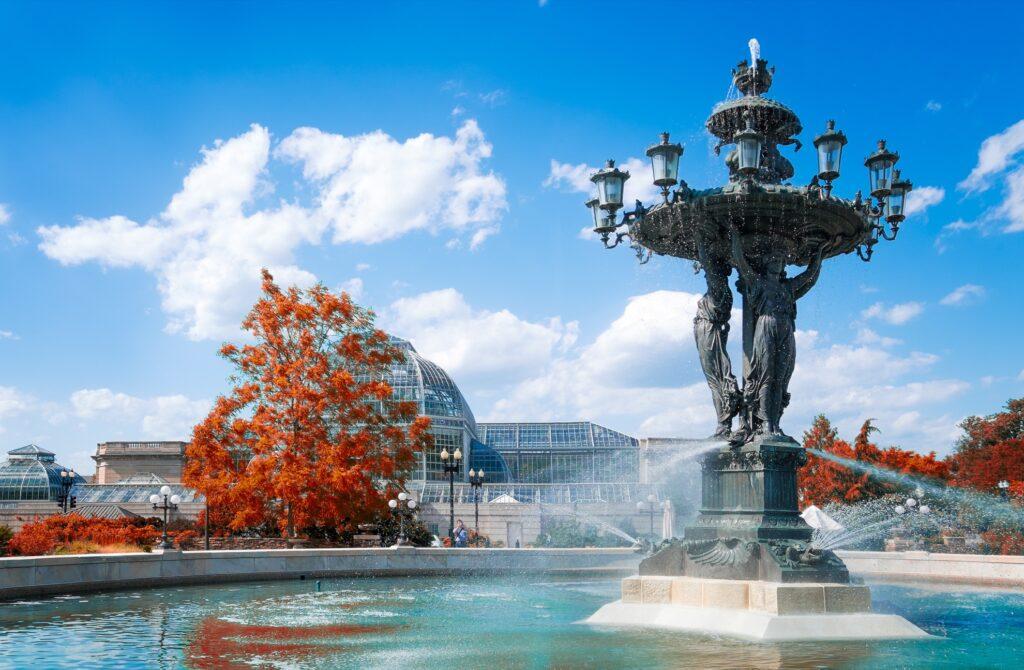 The United States Botanic Garden in Washington, D.C.