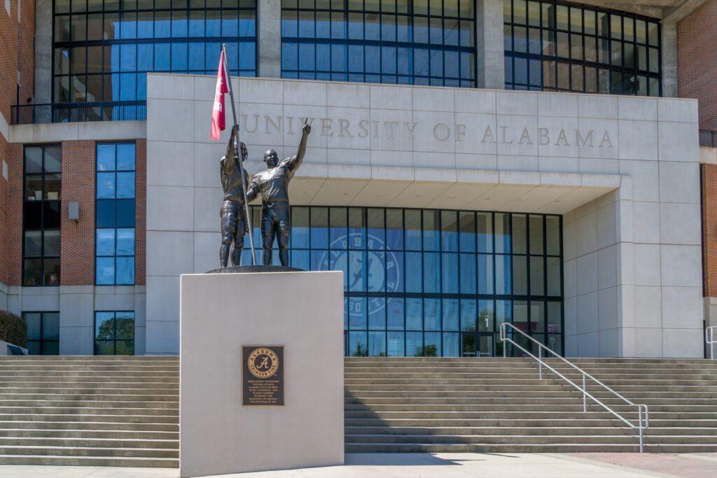The University of Alabama in Tuscaloosa.