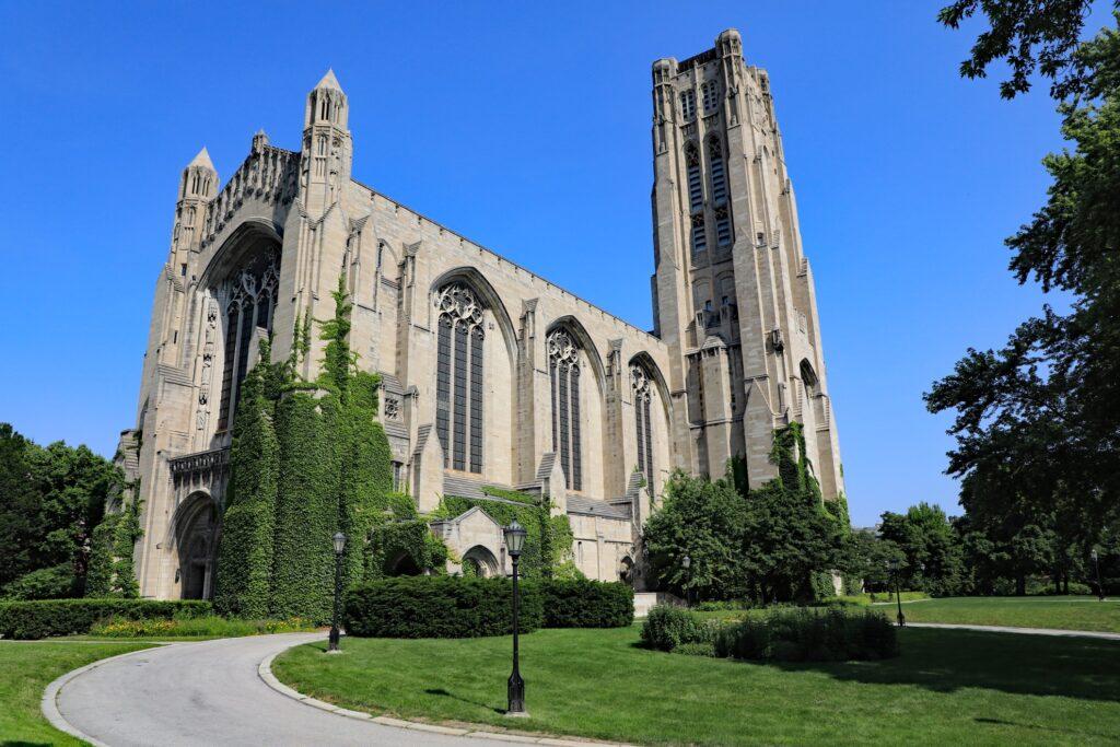 The University of Chicago's Rockefeller Chapel.