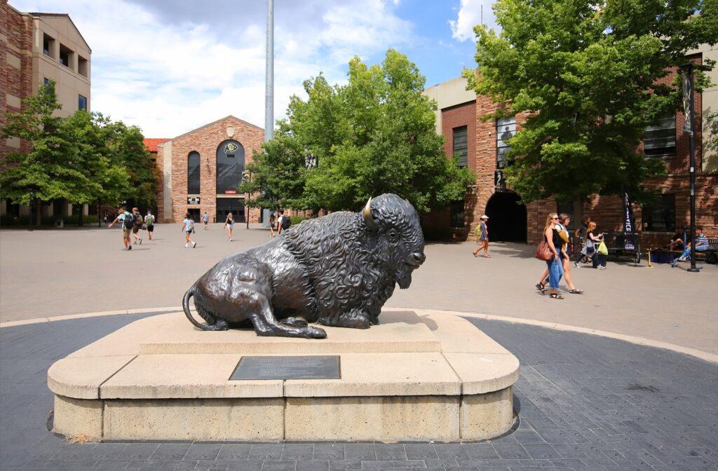 The University of Colorado campus.