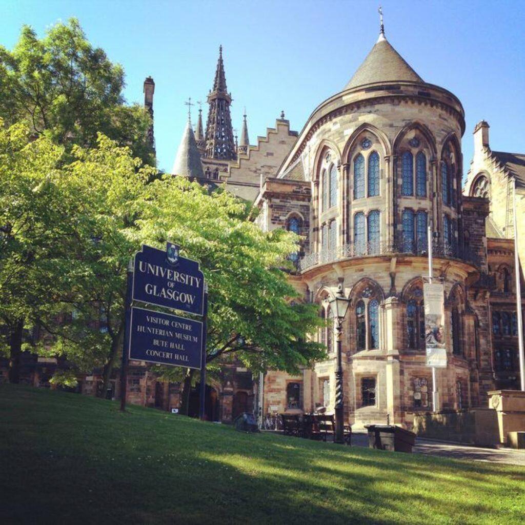 The University of Glasgow in Scotland.