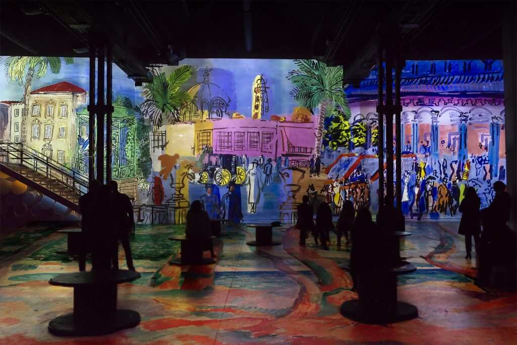 The upcoming exhibition on Monet, Renoir, and Chagall.