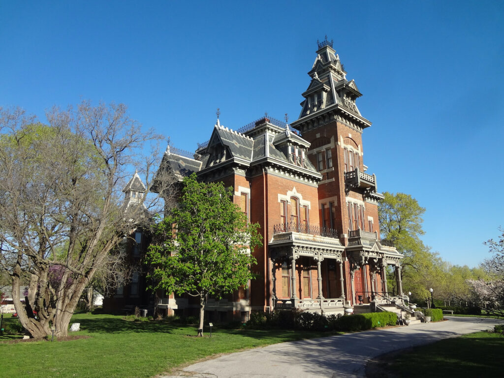 The Vaile Mansion in Independence, Missouri.