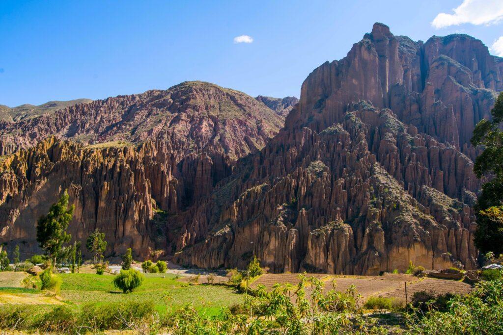 The Valle de las Animas in the Palca Canyon.