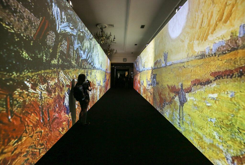 The Van Gogh Exhibit.