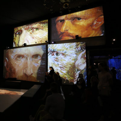 The Van Gogh Exhibit.