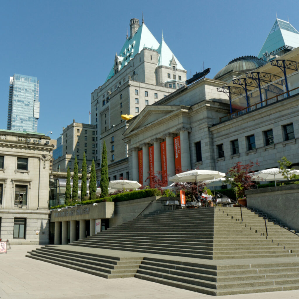 The Vancouver Art Gallery in Canada.