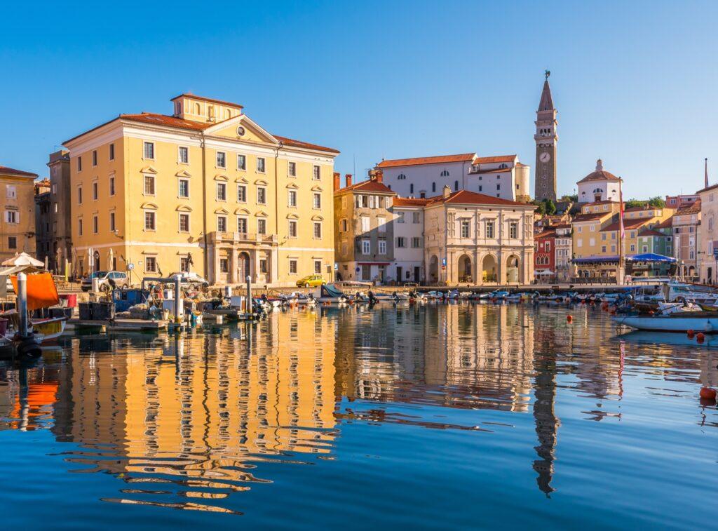The Venetian Port in Piran.