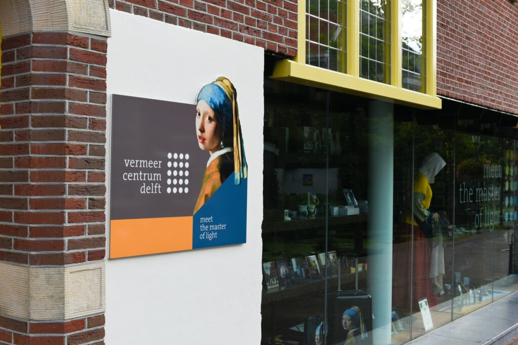 The Vermeer Centrum in Delft.