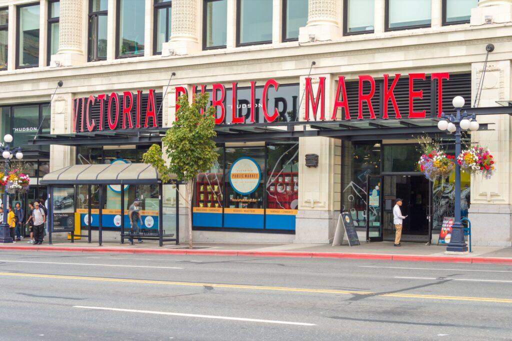 The Victoria Public Market.