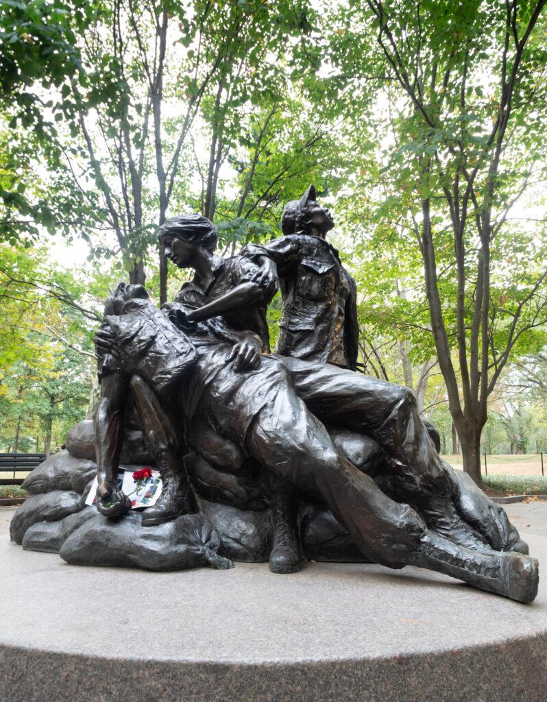 The Vietnam Women's Memorial in D.C.