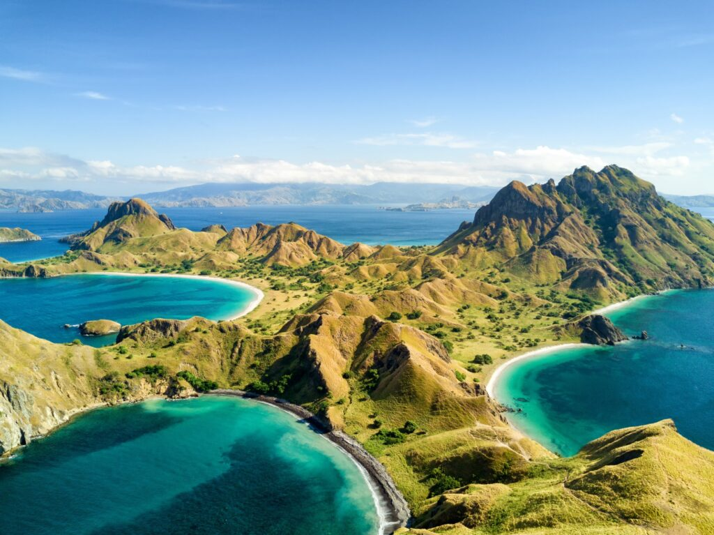 The view from the top of Padar Kecil.