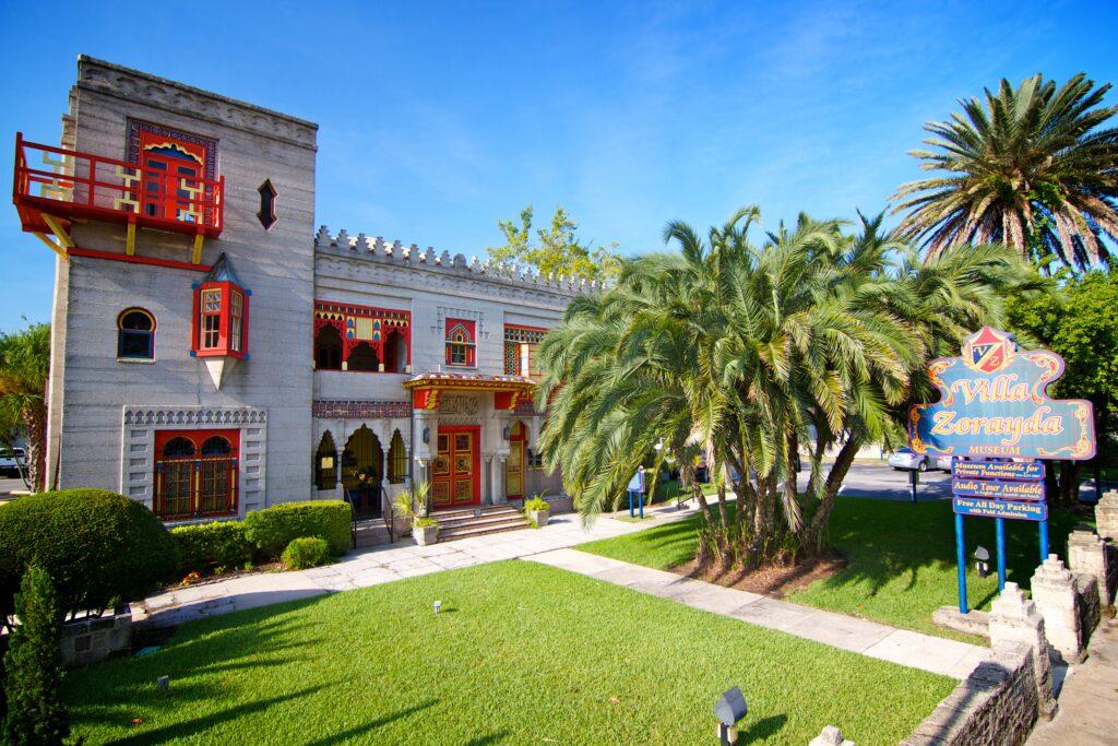 The Villa Zorayda Museum in Florida.