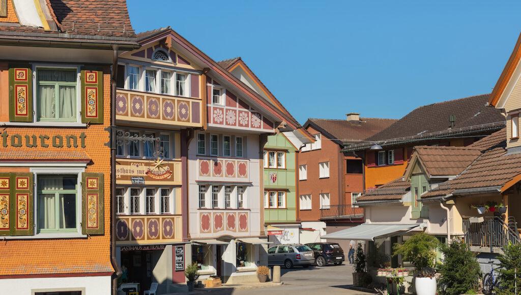 The village of Appenzell in Switzerland.