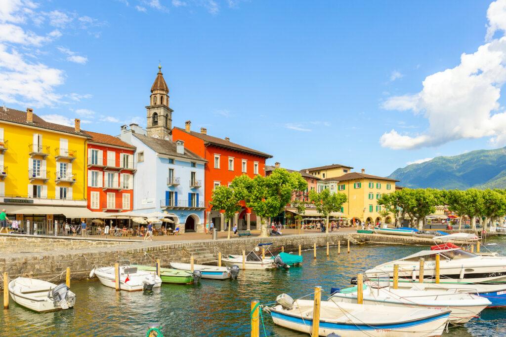 The village of Ascona in Switzerland.