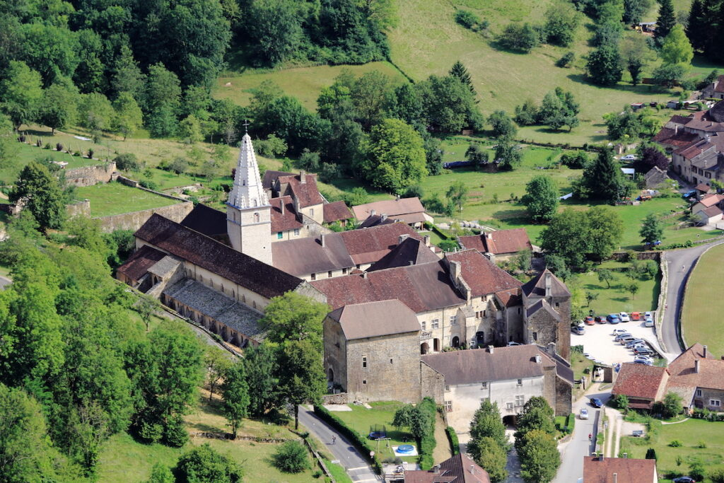 The village of Baume-les-Messieurs in France.