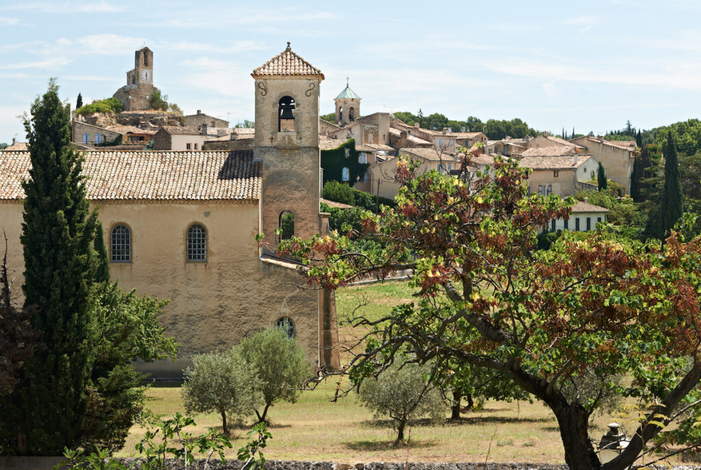 The village of Lourmarin, France.