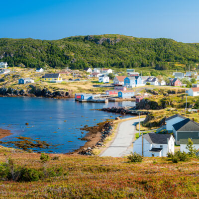 The village of Twillingate in Newfoundland and Labrador, Canada.