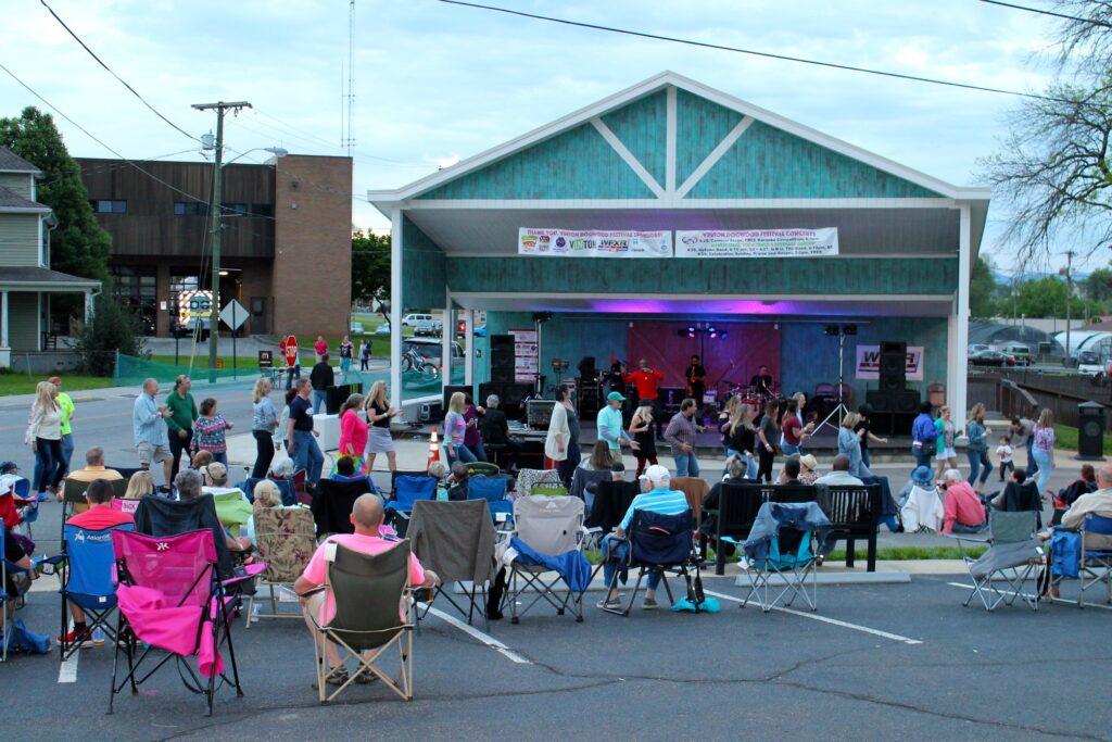 The Vinton Dogwood Festival in Virgina.