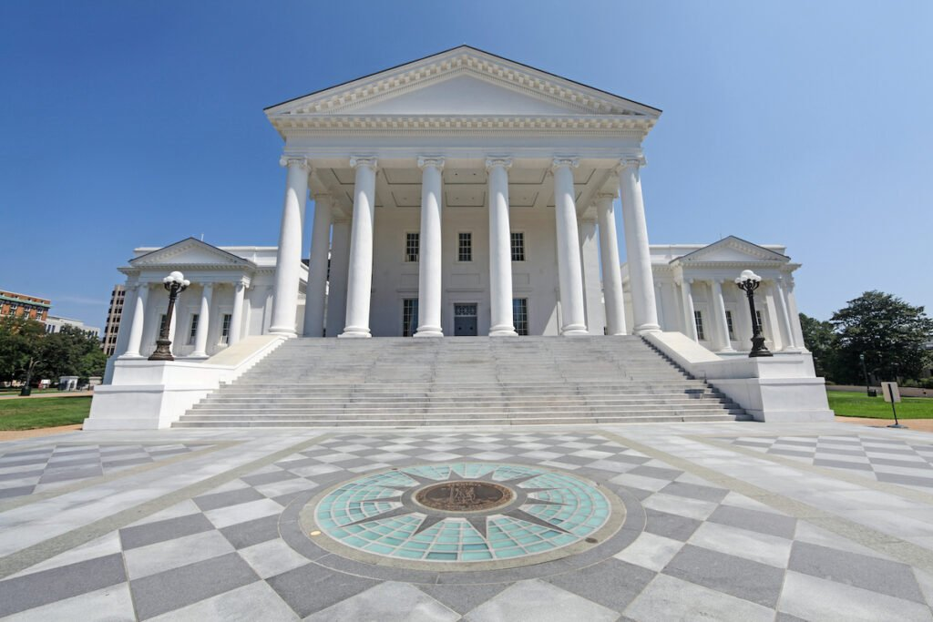 The Virginia State Capitol in Richmond.