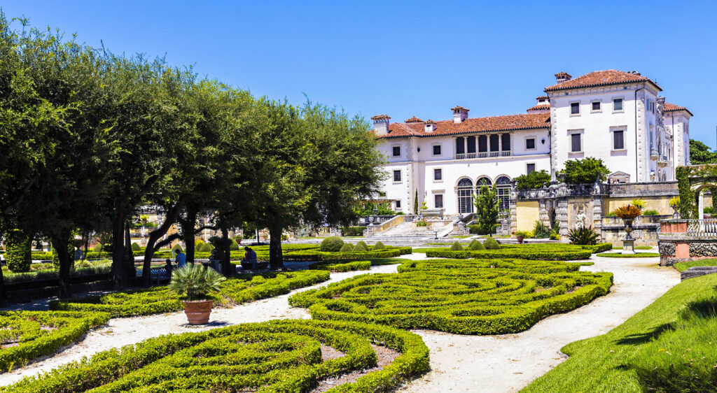 The Vizcaya Museum and Gardens in Miami.