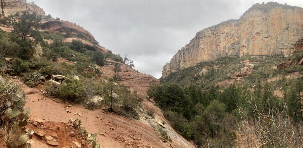 The vortex at Boynton Canyon in Sedona, Arizona.