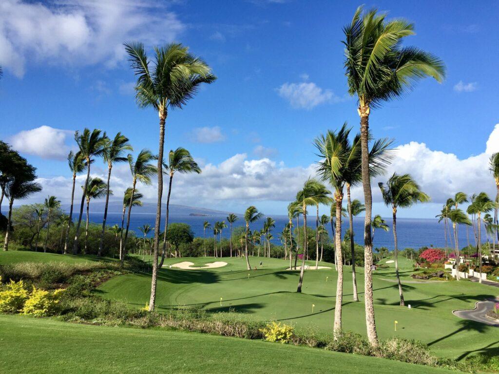 The Wailea Golf Club on Maui.