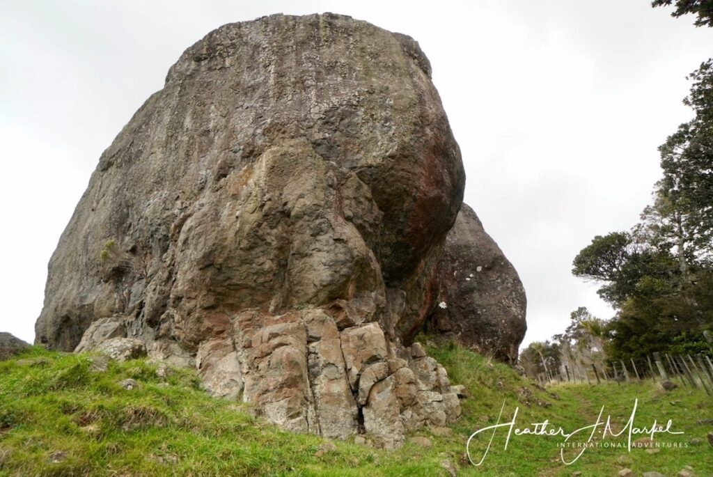The Wairere Boulders in New Zealand's Northland.