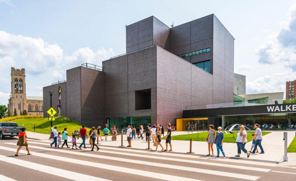The Walker Art Center in Minneapolis.