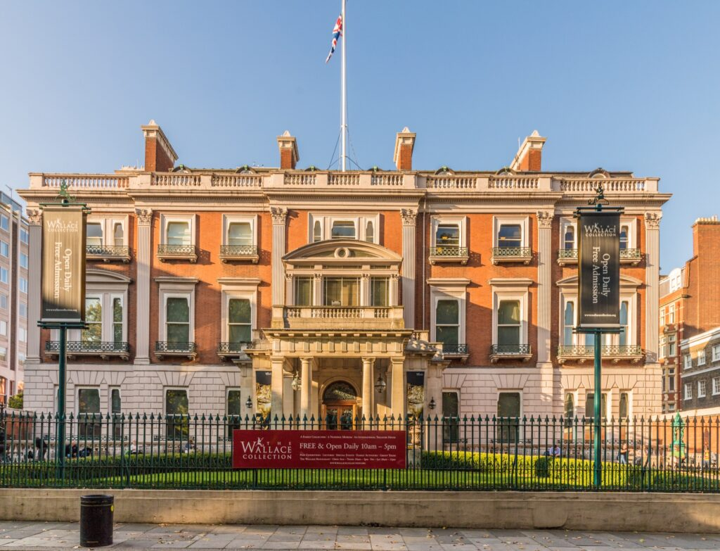 The Wallace Collection in Marylebone.