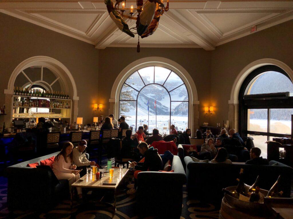 The Walliser Stube at Fairmont Chateau Hotel.