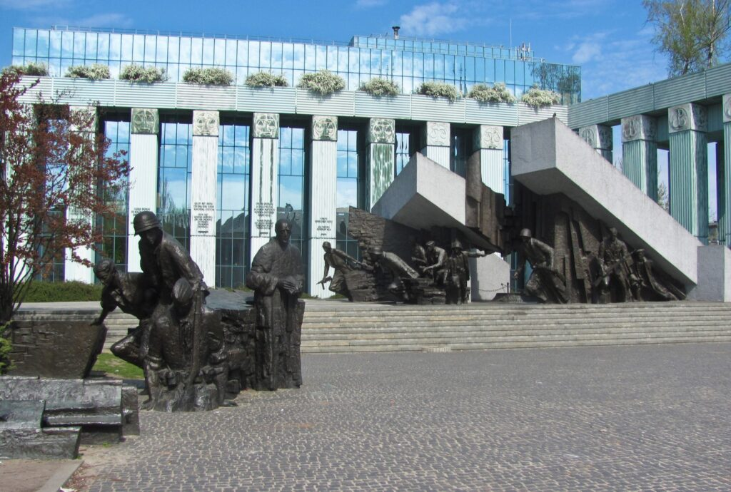 The Warsaw Uprising Museum in Poland.