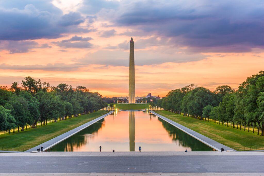 The Washington Monument in Washington, D.C.