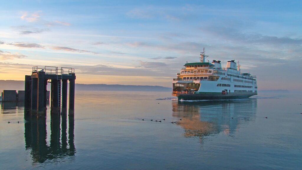 The Washington State Ferry.