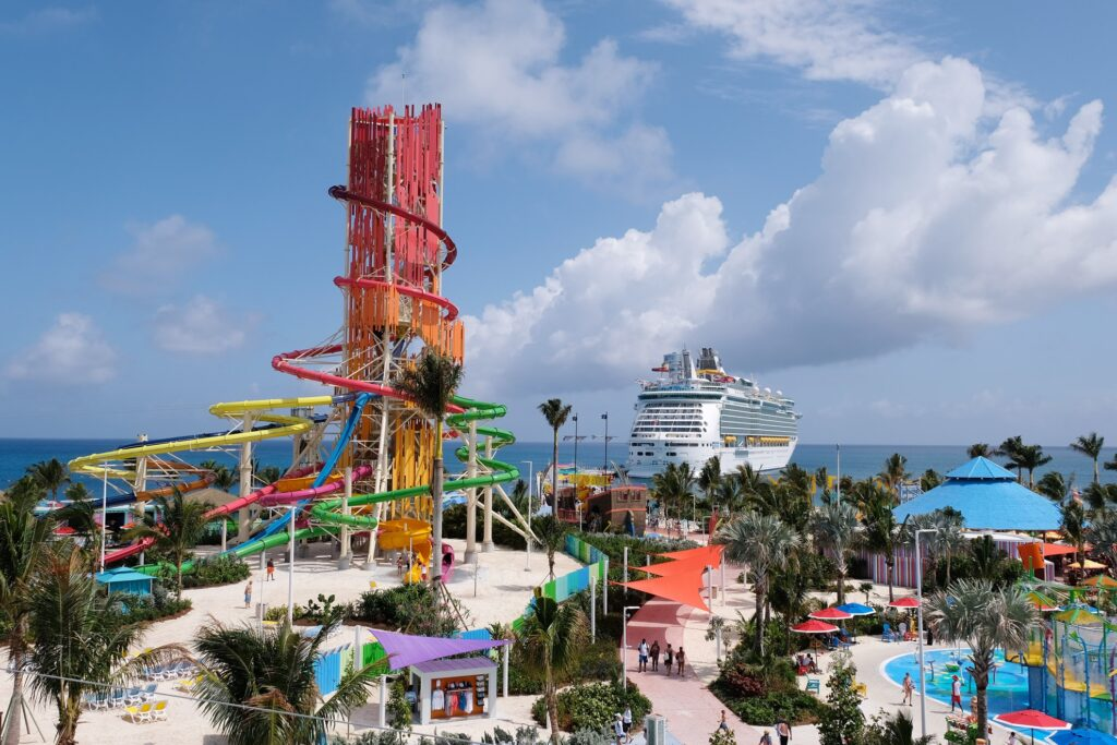 The waterpark on CocoCay.