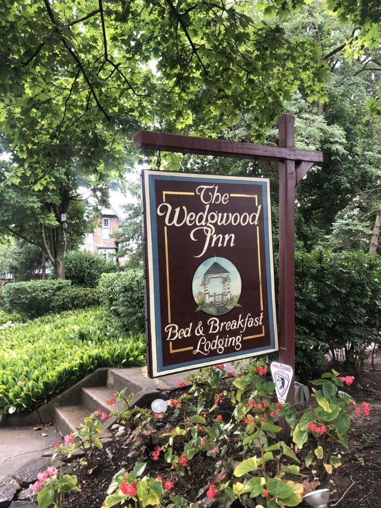 The Wedgwood Inn in New Hope, Pennsylvania.