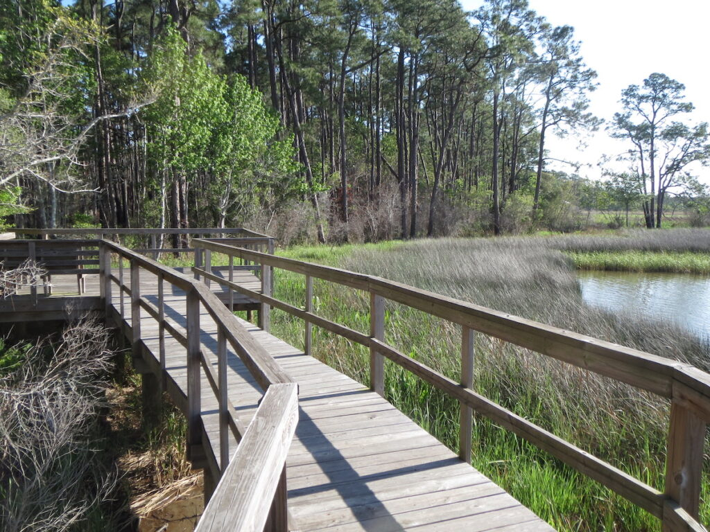 The Weeks Bay National Estuarine Research Reserve.
