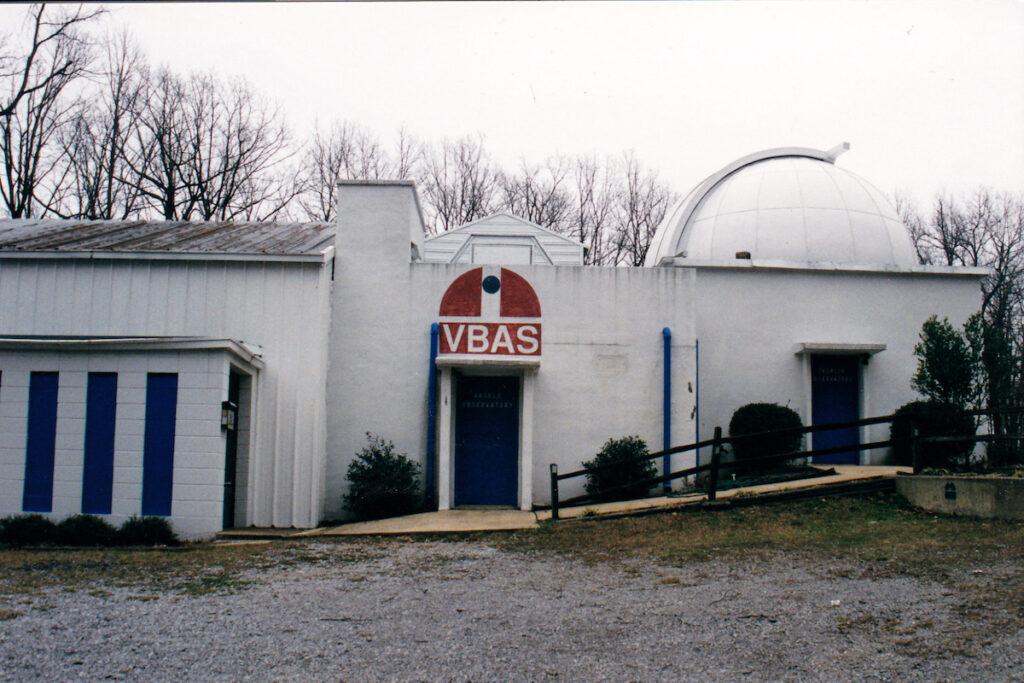 The Wehrer von Braun Planetarium near Monte Sano State Park.