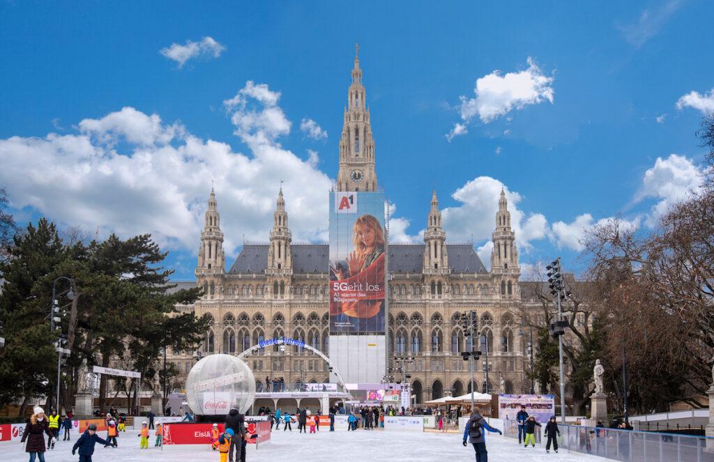 The Weiner Eistraum in Vienna.