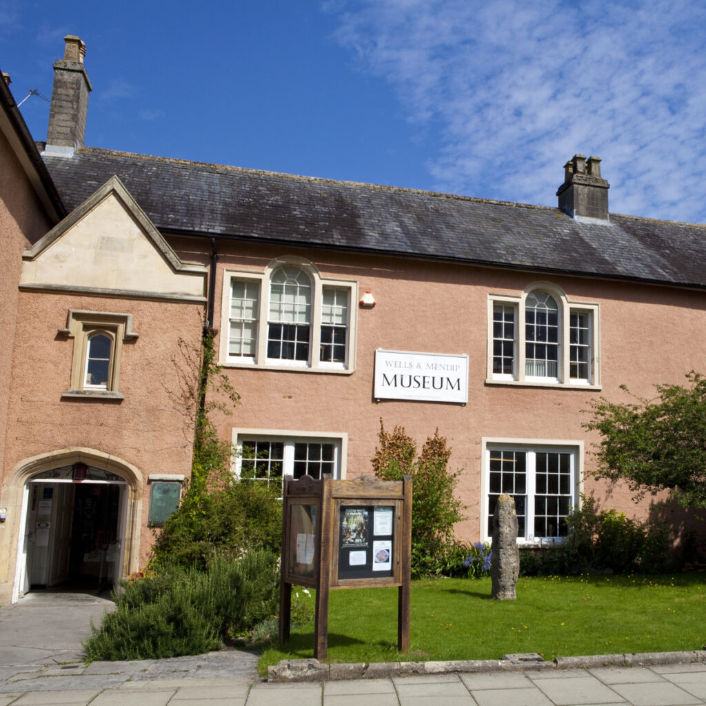 The Wells and Mendip Museum in England.