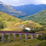 The West Highland Line in Scotland.