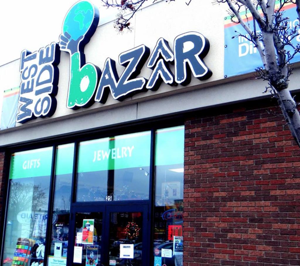 The West Side Bazaar in Buffalo, New York.