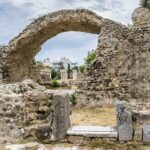 The Western Archeological Zone in Kos, Greece.