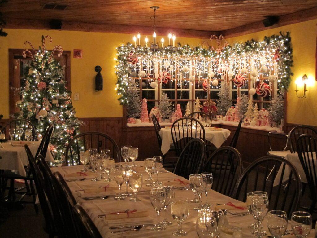 The White Gull Inn's progressive dinner.