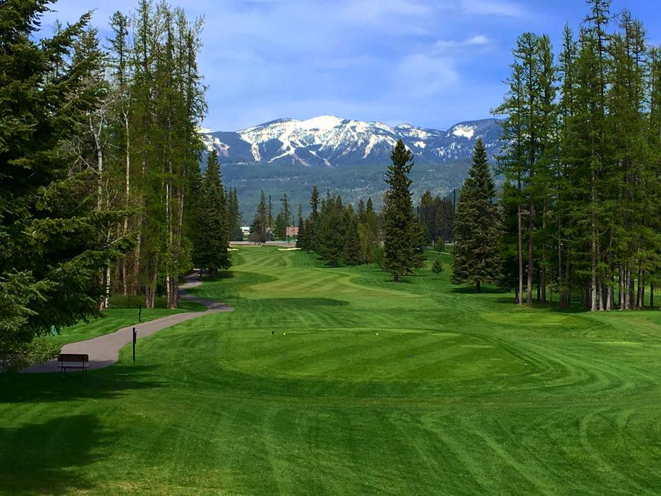The Whitefish Lake Golf Club in Montana.
