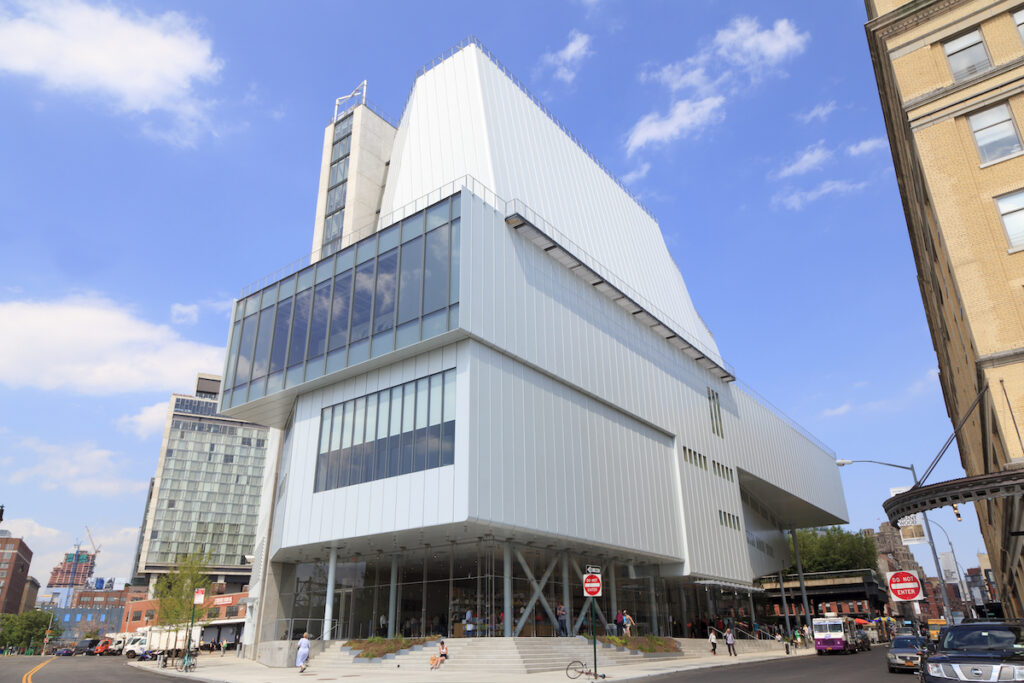 The Whitney Museum Of American Art in New York City.